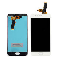 Дисплей Meizu M5s,M5s mini with touchscreen white orig