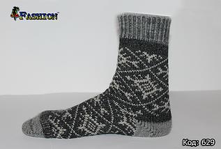 Чоловічі шерстяні носки Ідея, фото 2