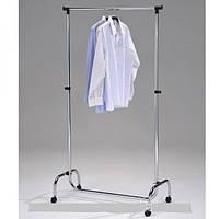 Стойка для одежды на одну перекладину, хромированная CH-4001-L-CH