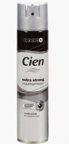 Лак для волос Cien 5 extra strong  400 мл, фото 2