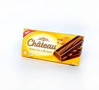 Молочный шоколад с карамелизированным миндалем, медом и солью Chateau Honig Salz Mandel 200g