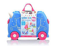 Trunki Детский чемоданчик дорожный Pearl The Princess Carriage 0259