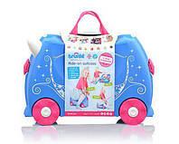 Trunki Детский чемоданчик дорожный Pearl The Princess Carriage 0259, фото 1