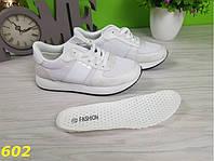 Белые кроссовки с посеребрением , фото 1