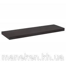 Полка 16мм ДСП чёрная 1200*250