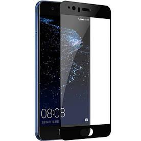 Защитное стекло 3D Full Screen для Huawei P10 Plus, черное