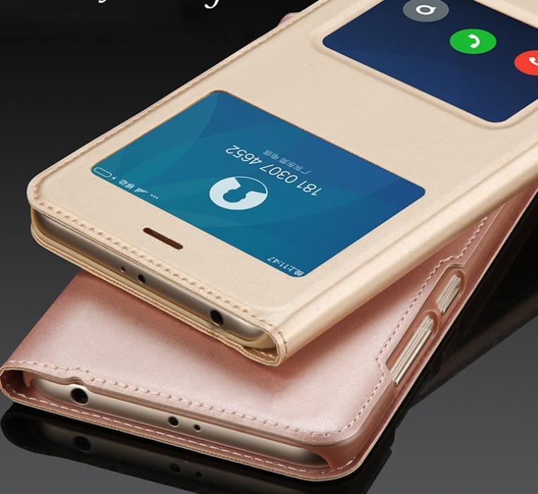"Smart чехол книжка с окошками Xiaomi Redmi 5 Plus / 5,99"" /"