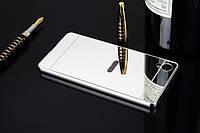 Металлический бампер с акриловой вставкой с зеркальным покрытием для Sony Xperia XA / XA Dual