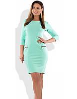 c3c886727a1ed0c Деловое ментоловое платье в Украине. Сравнить цены, купить ...