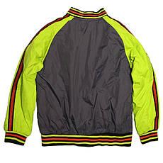 Куртка-бомбер демисезонная для мальчика  12-13 лет серая, фото 3