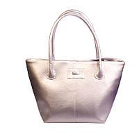 Женская сумка XYZ Экокожа С4002 серебристая