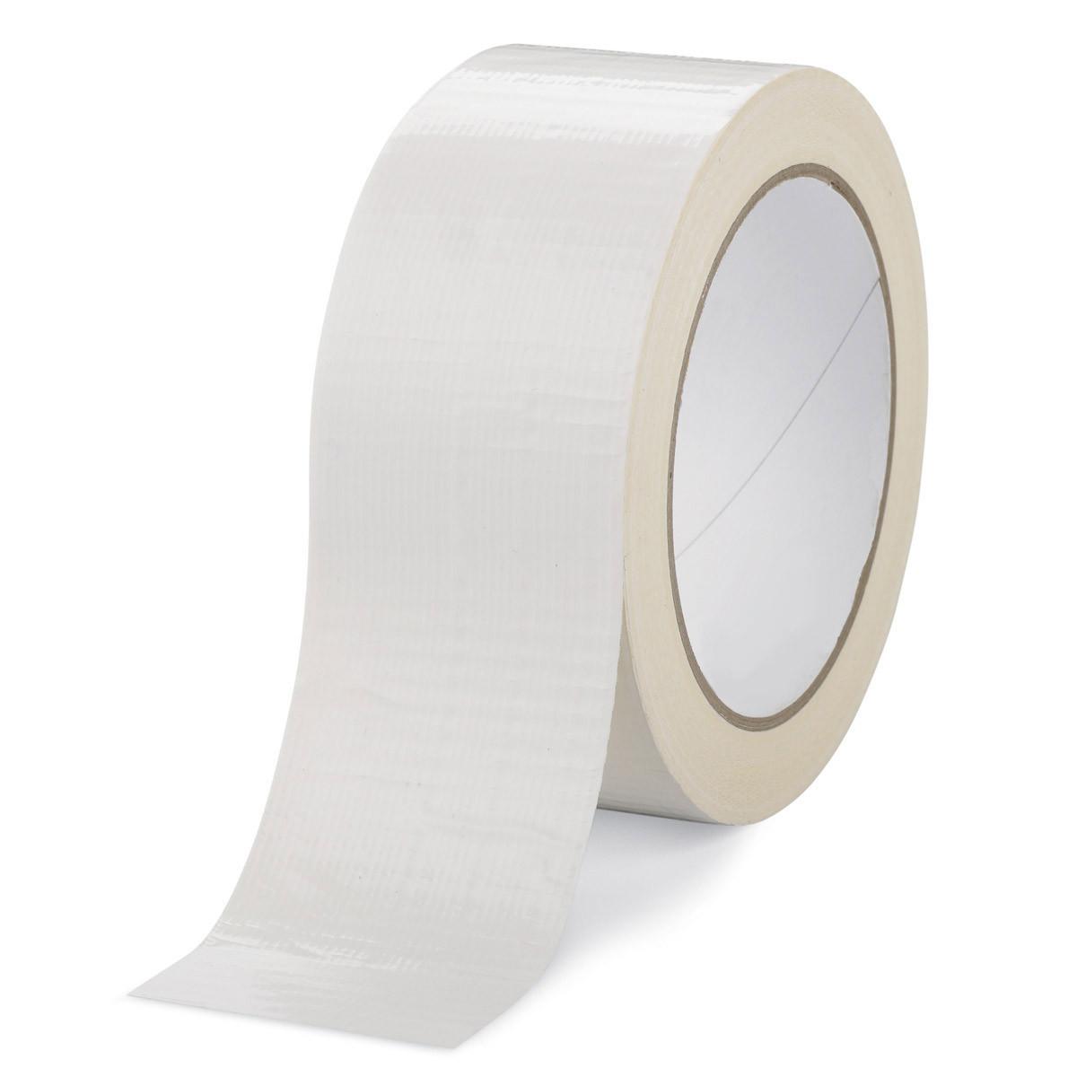 Скотч упаковочный белый 90м