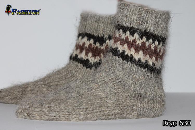 Мужские шерстяные носки Гуцул