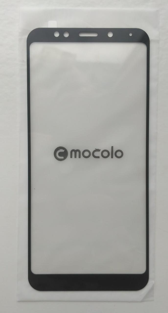 Стекло Mocolo для Xiaomi Redmi 5+ Plus с черной рамкой