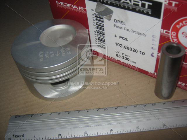 Поршень OPEL 85.30 1.8 18E/18S (Mopart) 102-66020 10