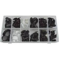 Набор пластиковых клипс универсальный 128 шт. 52888 JBM