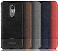 """Люксовый антиударный чехол под кожу и карбон (усиленный) для Xiaomi Redmi 5,7"""". Фирма Rugged Armor , фото 1"""