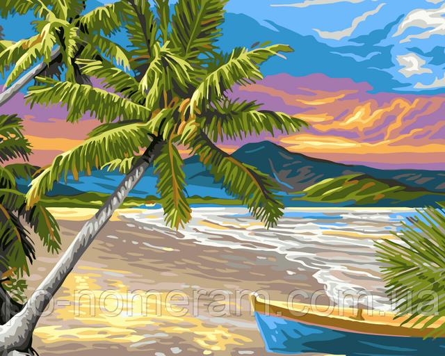 Картина по номерам пляж