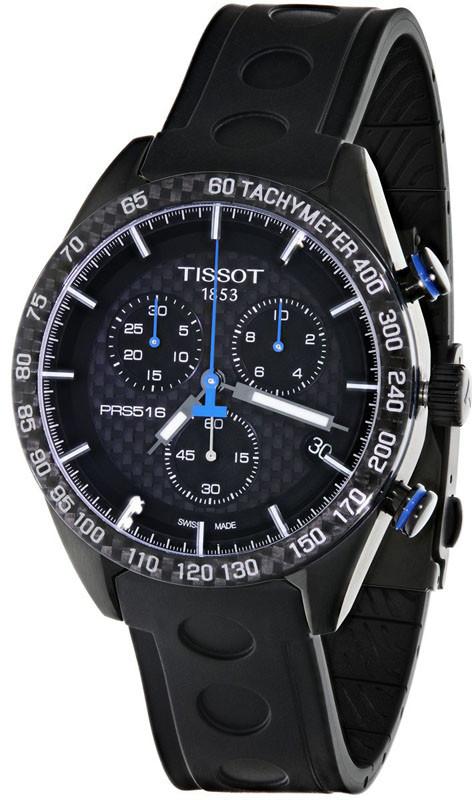 Годинники чоловічі Tissot PRS 516 Chronograph T100.417.37.201.00
