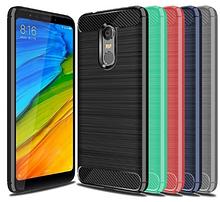 """Силиконовый чехол Carbon для Xiaomi Redmi 5 / на 5,7"""" дюйма диагональ"""