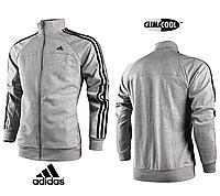 Кофта Adidas Perfomance ClimaLite Cotton gray, фото 1