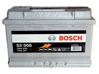 Аккумулятор 77 BOSCH 6СТ-77А/ч 780А Евро (S5008)