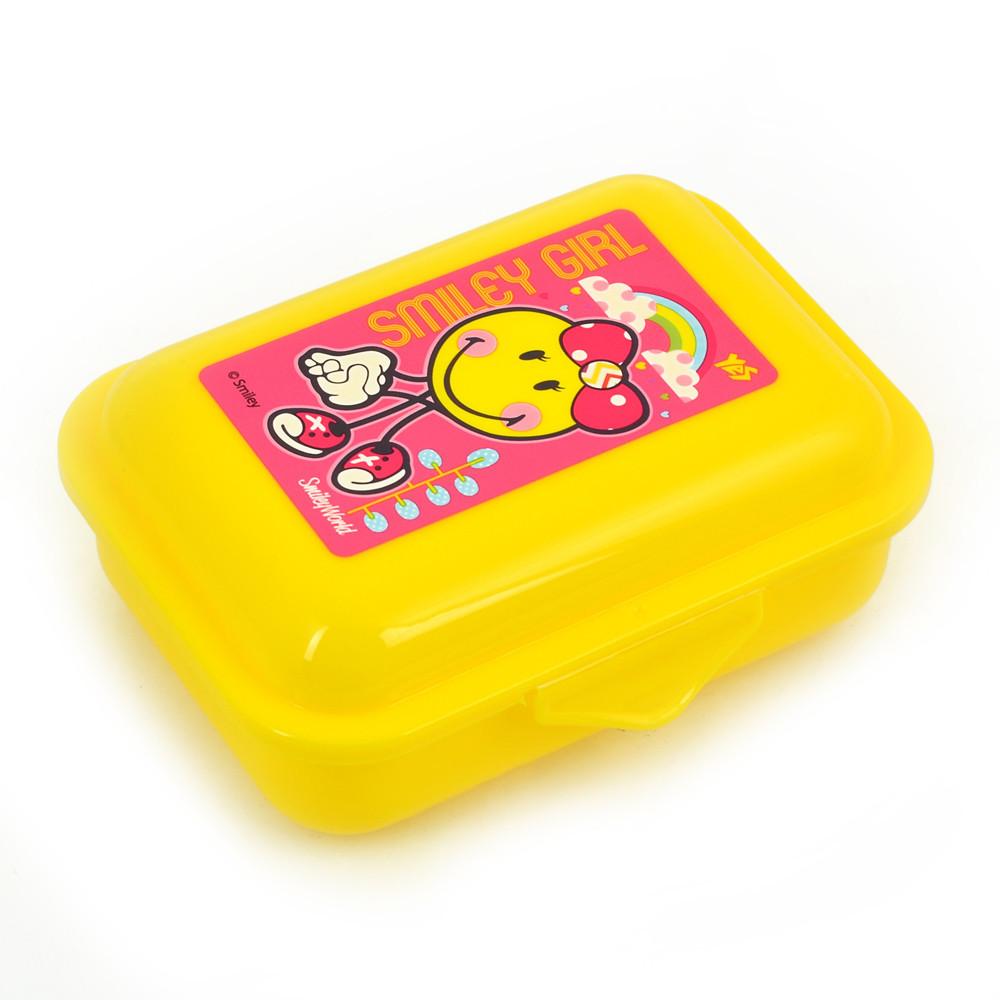 """Контейнер для еды """"Smiley World"""" (pink) 280 мл 706237 """"1 Вересня"""""""