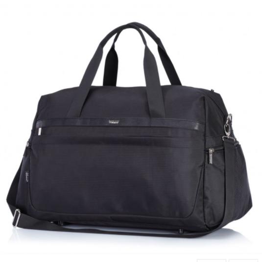 Дорожная сумка Dolly 779 три расцветки 54 см. - 28 см. - 30 см. Чёрный