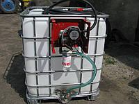 Еврокуб с заправочным модулем, минизаправка 12-24В