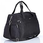 Дорожная сумка Dolly 779 три расцветки 54 см. - 28 см. - 30 см. Чёрный, фото 3