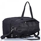 Дорожная сумка Dolly 779 три расцветки 54 см. - 28 см. - 30 см. Чёрный, фото 5
