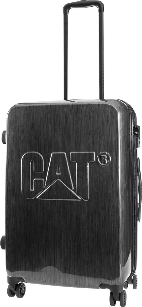 Средний чемодан CAT CAT-D 83550;83, пластик 56 л, стальной