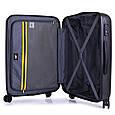 Средний чемодан CAT CAT-D 83550;83, пластик 56 л, стальной, фото 7