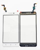 Оригинальный тачскрин / сенсор (сенсорное стекло) Lenovo Vibe K5 A6020a40 | K5 Plus A6020a46 Lemon 3 (белый)