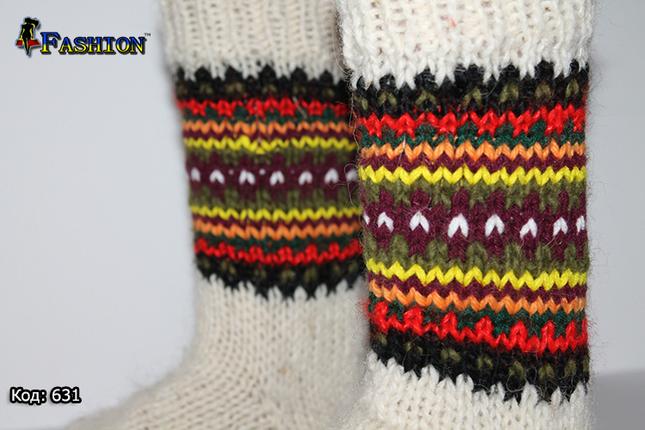 Вовняні жіночі шкарпетки Настрій, фото 2