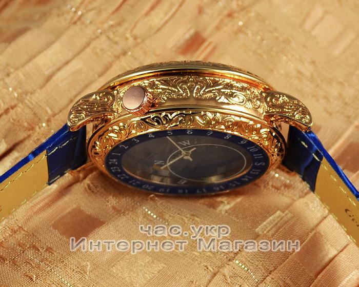 554bd4e8a4b3 ... Мужские наручные часы Patek Philippe Sky Moon Tourbillon 6002G-001 Gold  Blue реплика Кварц Кварцевые ...