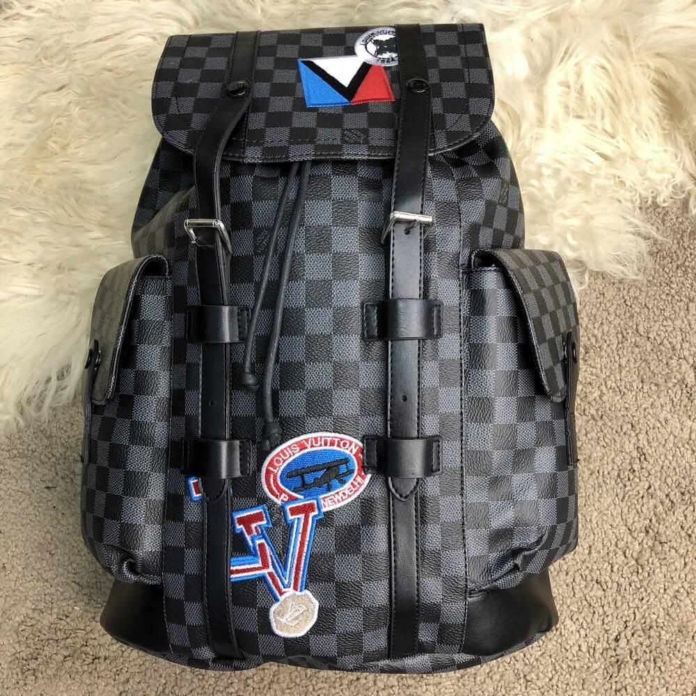 e5fbc8444742 Рюкзак Louis Vuitton Christopher PM LV League, реплика - TopCross в Львове