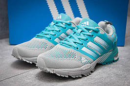 Кроссовки женские в стиле Adidas SonicBoost, темно-синий (13343),  [  36 (последняя пара)  ]