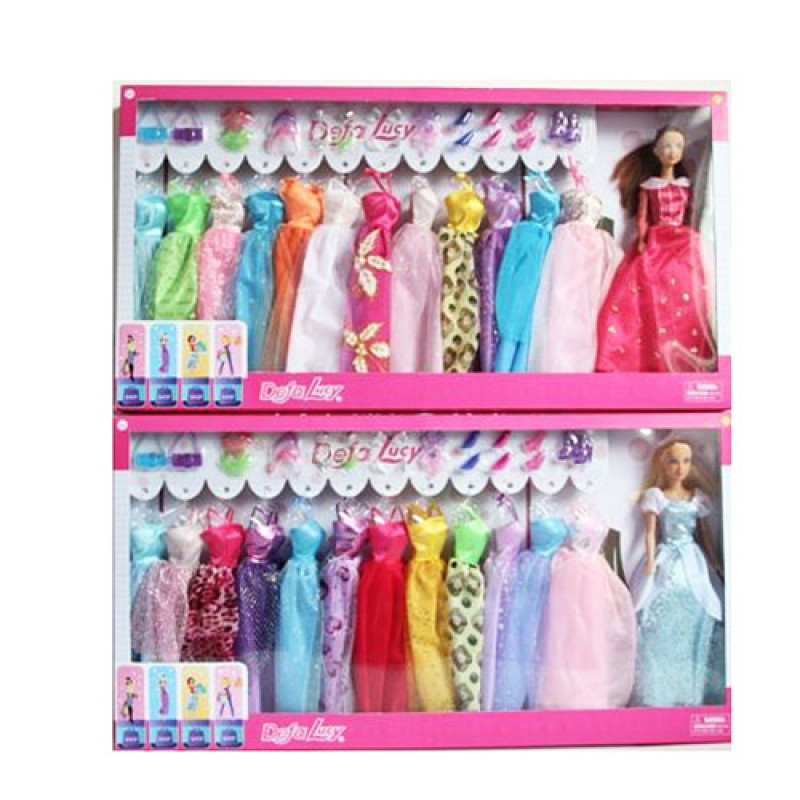 Кукла с нарядом DEFA, платье, аксессуары, 8362-BF