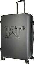 Чемодан большой пластиковый, CAT CAT-D 83551;82 97 л,черный