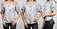 Женская блузка летняя 670 оптом