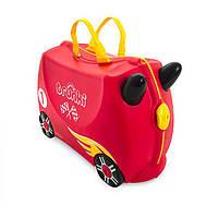 Валіза дитячий на колесах Автомобіль Rocco Trunki TRU0321