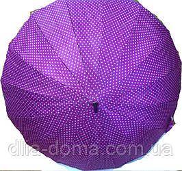 Зонты женские трость Универсал Сиреневый