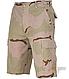 Шорты мужские  BERMUDA   камуфляжные  3 desert   рип-стоп  хлопок 100% искуственно состарен   Mil-Tec Германия, фото 4