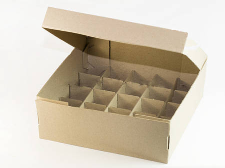 Коробка для канапе «25» серая комплект 50 шт