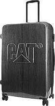 Чемодан большой пластиковыйCAT CAT-D 83551;83, 97 л.стальной