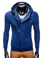Толстовка мужская на молнии738 - Синий M, Синий