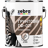 """Грунт ГФ-021 """"Зебра"""" красно-коричневый 2,8 кг"""