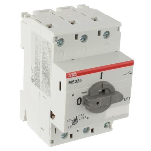 Автомат защиты двигателя ABB MS325-1,6, 1SAM150000R1006
