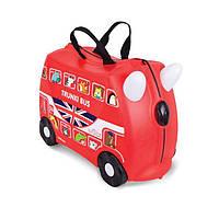 Детский чемоданчик на колёсиках Trunki Bus Автобус (TRU-0186), фото 1